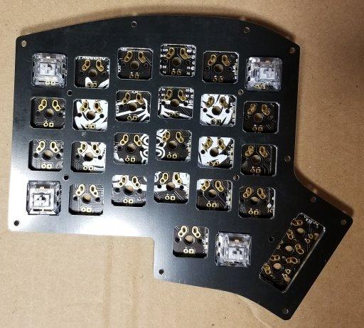 Iris Keyboard Build | codesuji